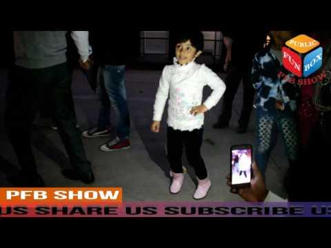 cute girl dance performance on Mahine Bhitar Ban...