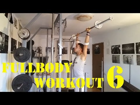 Fullbody workout 6 - Trening za celo telo 6 - 05.08.2018.