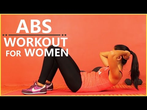 Ab Circuit Workout For Men And Women At Home (Six Pack Abs Exercises For Girls And Guys)