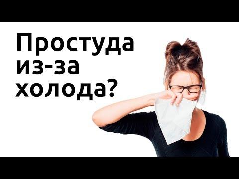 Можно ли заболеть от холода? Миф о простуде