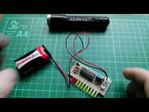 Easy LM3915 Audio Level Meter Electronic Kit Build