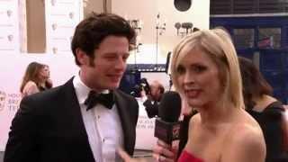 James Norton interviewed at the Bafta television awards