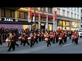 San Francisco Chinese New Year Parade 2017 West Portal Elementary Dragon Drummers Lion Dance Troupe