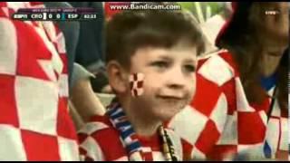 croatia fans freaky smile euro 2012