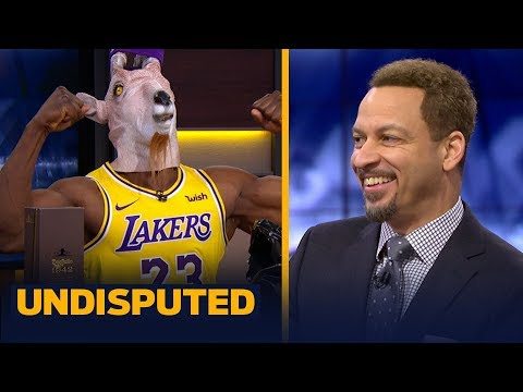 Chris Broussard was 'very surprised' with the Lakers' 129-128 win vs the Celtics | NBA | UNDISPUTED