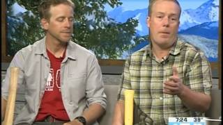 Minturn Trail Clean Up Casey Wyse and Bill Hoblitzell  05.10.17 Good Morning Vail