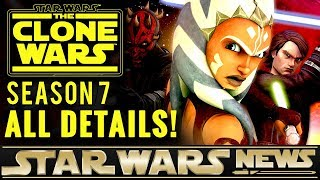 The Clone Wars Returns! All Official Facts & Details | Star Wars News