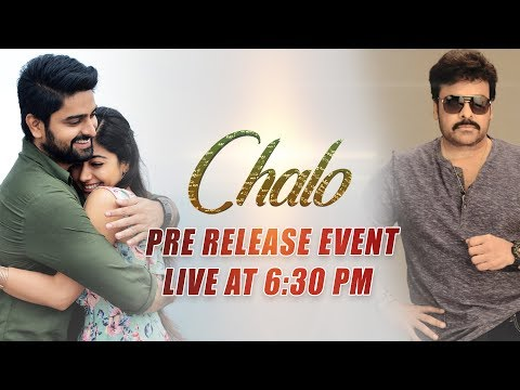 Chalo Movie | Pre Release Event Live |...