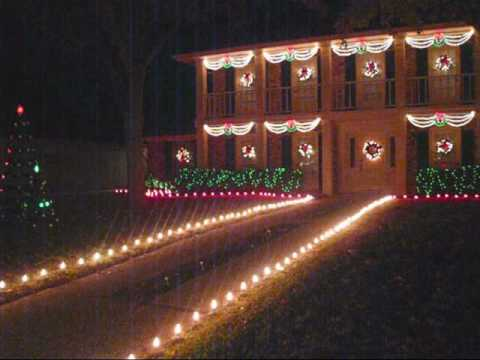 Interlochen Christmas Lights in Arlington Texas - YouTube