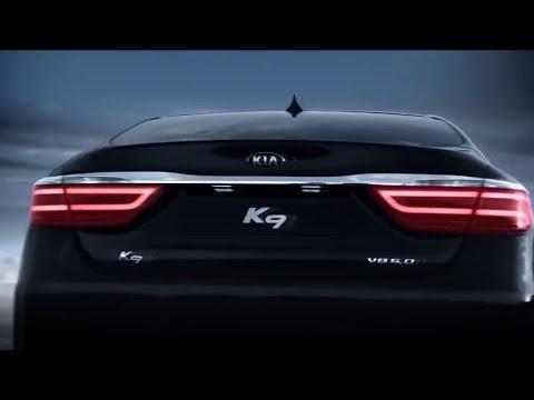2017 Kia Quoris K9 v8 5.0l Commercial Реклама  k900