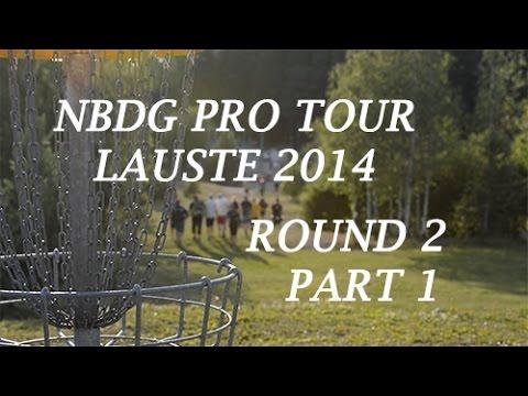 Finnish Disc Golf Pro Tour (NBDG pro-tour) Lauste Round 2 P1