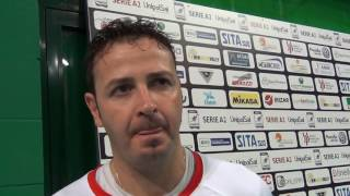 08-10-2016: #A2MVolley Alessandro Giosa post New Mater - Lagonegro
