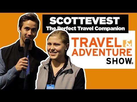 SCOTTEVEST INTERVIEW : Travel / Adventure Show Long Beach