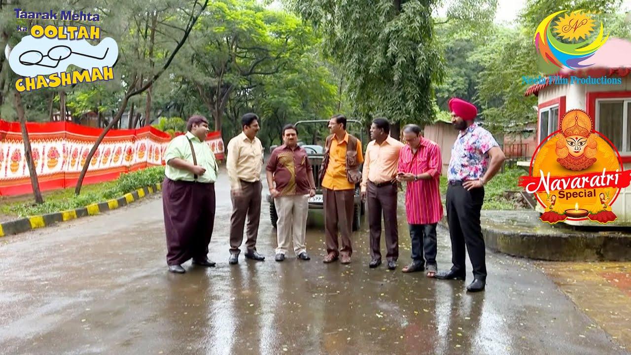 Download Gokuldham Gents Plan An Important Meeting |Taarak Mehta Ka Ooltah Chashmah | Navaratri Special