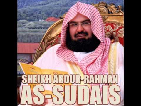 Sourate Al-Waqi'a Sheikh Abderrahman Al Soudais