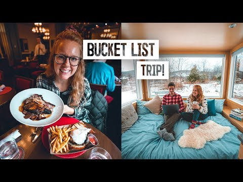 Perfect Day in Hudson Valley! - INCREDIBLE Off Grid Tiny Home & Delicious Food Tour!