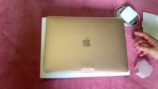 Macbook Air Gold 2018