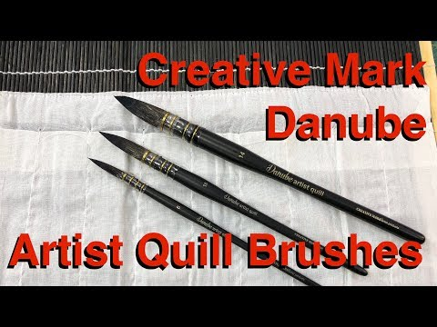 Creative Mark Danube Quill Brushes Watercolor