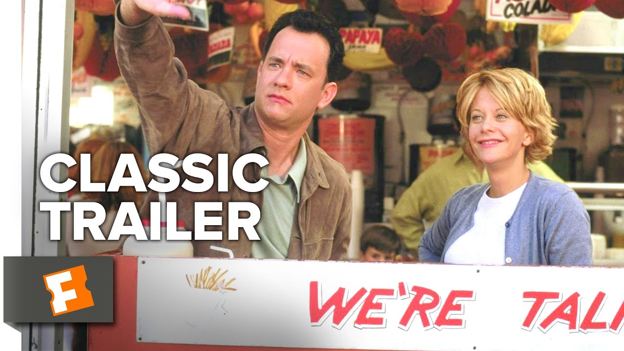 Youve Got Mail 1998 Official Trailer Tom Hanks Meg Ryan Movie
