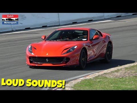 Ferrari 812 Superfast SCREAMING On Track!