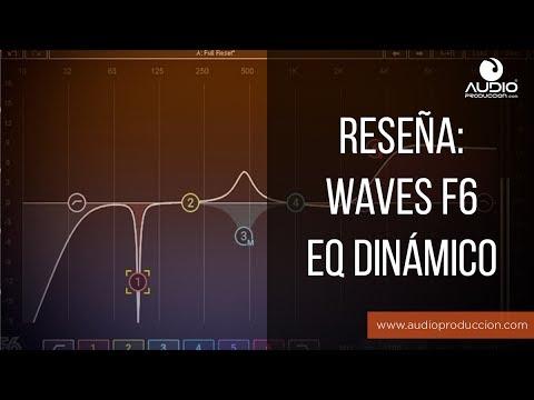 Waves F6 Dynamic EQ - Reseña