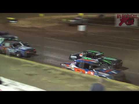 Mid America Clash 5 - Salina Speedway 9-29-17 Hobbystock Heat Races
