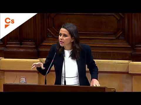 Puigdemont reacciona así al rapapolvo de Arrimadas en el Parlament