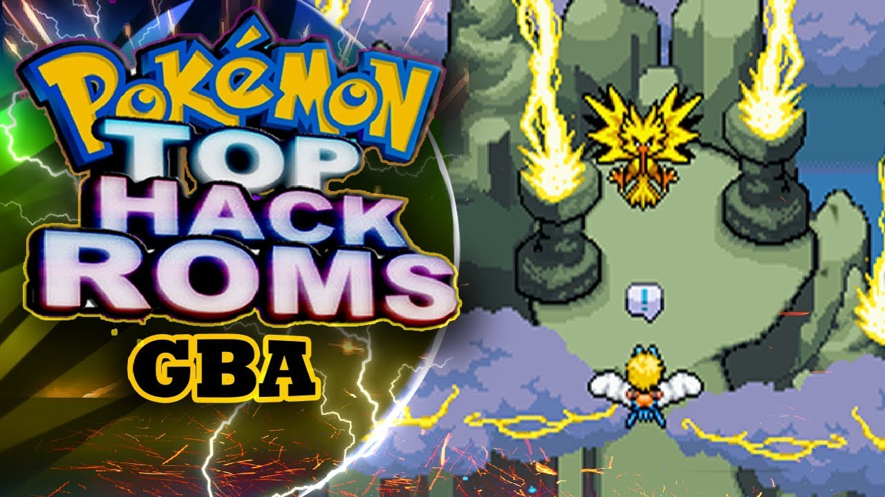 Top Hack Roms Pokemon Gba 2018 Darkfex Youtube