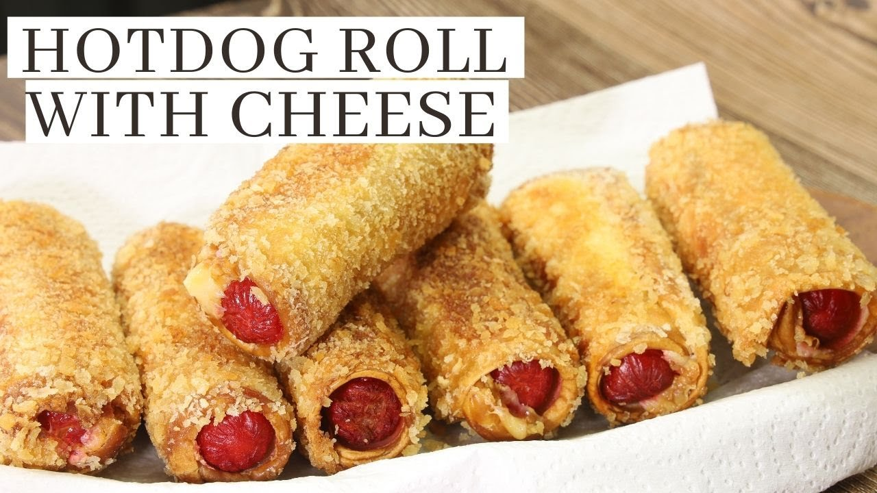 How To Make Hotdog Roll With Cheese