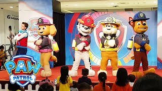Paw Patrol Live Show Song & Dance | Learn Fire Safety with Chase, Marshall, Skye, Rubble