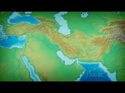Middle East Through Maps: 1300 BC to 1500 AD