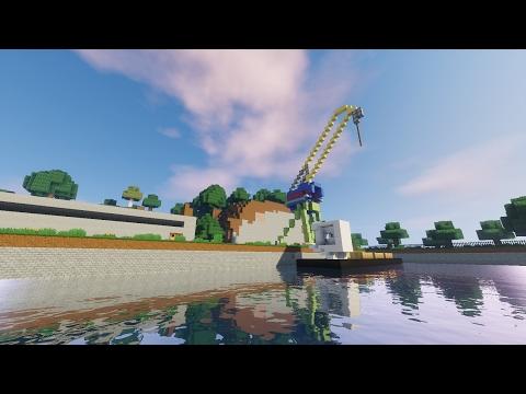 Русский город в Minecraft - 159 - Порт