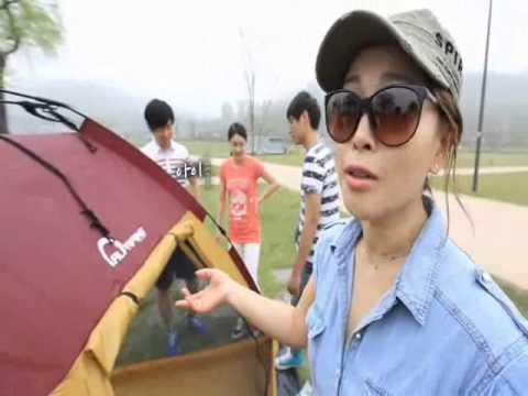 안정환의 알프랑 5초 원터치 텐트