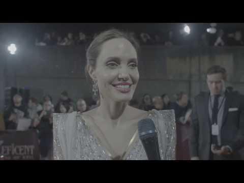 Maleficent Mistress Of Evil European Premiere Jolie