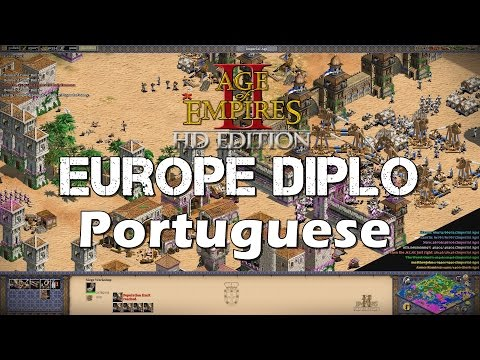 Feitoria Spam | Age of Empires 2 HD West Europe Diplomacy | Portuguese