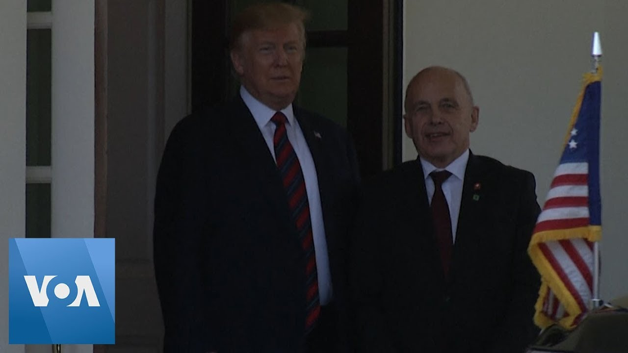 Trump Meets Swiss Leader Amid Iran Tensions