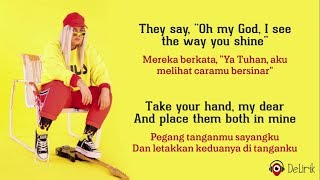 Gambar cover Dance Monkey - Tones and I (Lyrics video dan terjemahan)