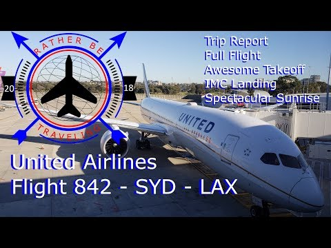 Trip Report | United 842 | Boeing 787-9 | Sydney (SYD) - Los Angeles (LAX) | Full Flight