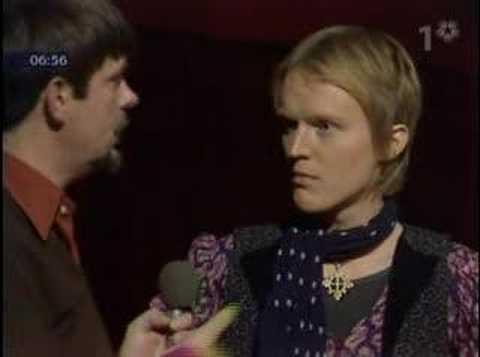 John Holm intervjuas i Allsköns musik 1975