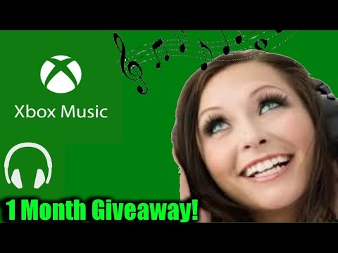 Xbox Music Pass 1 Month Giveaway! Ended
