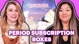 $25 Vs. $60 Period Subscription Boxes