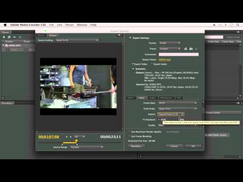 how to change video format in premiere pro