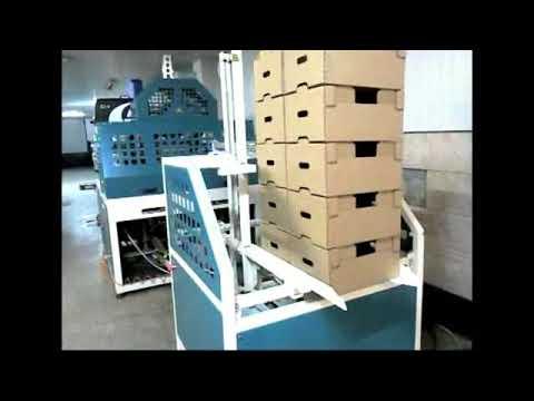 Машина для изготовления евротары - картонных ящиков МФК 03А
