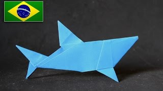 Origami: Tubarão Simples  (  Mr. Yukihiko Matsuno  )