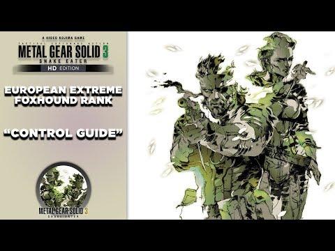 Metal Gear Solid 3 HD Walkthrough | PRIMER Control Guide | CenterStrain01