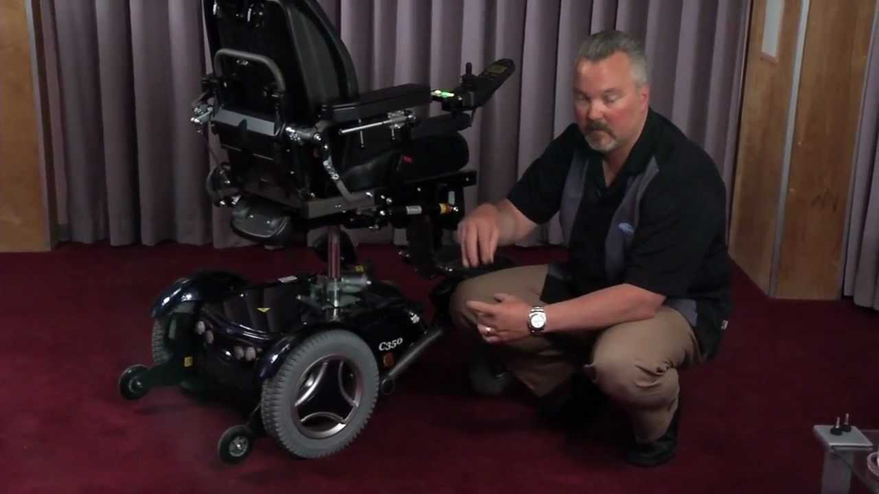 Episode 21 Permobil C300 Amp C350 Pt 3 Power Wheelchair