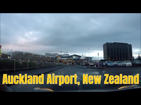 Drive to Auckland Airport, Auckland, New Zealand