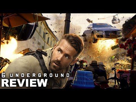 6 Underground Hindi Trailer Ryan Reynolds Michael Bay Netflix India Youtube