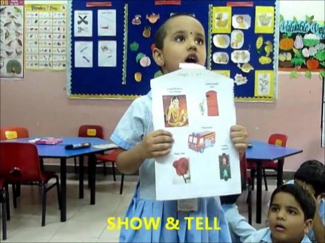 KG SHOW & TELL