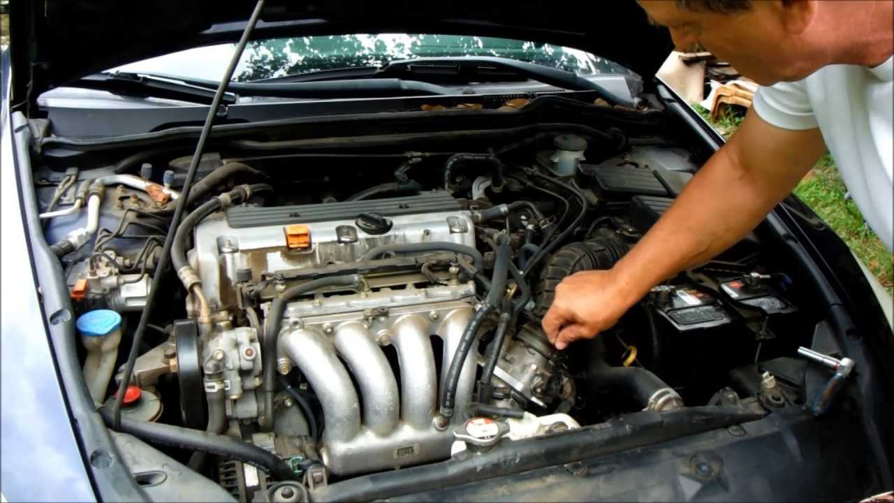 Honda Accord Starter replacement, tips and tricks  YouTube